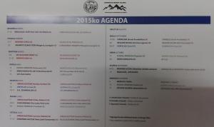 2015eko EKINTZEN EGUTEGIA / CALENDARIO ACTIVIDADES 2015
