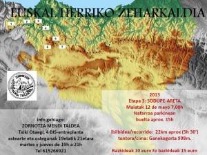 EUSKAL HERRIKO ZEHARKALDIA Etapa 3