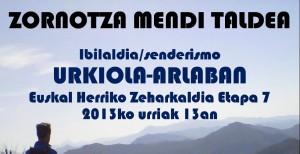 IBILALDIA URKIOLA-ARLABAN (Zeharkaldia etapa 7)