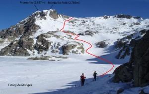 Mendiko eskia–Val d´Aran                    Esqui de montaña-Val d´Aran