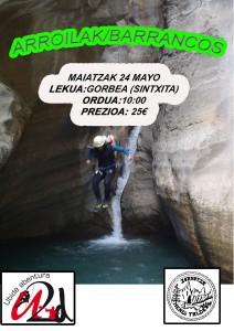 ARROILA JAITZIETA / BARRANCOS