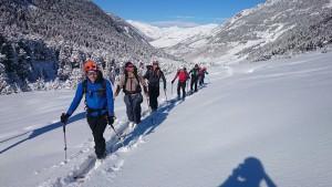 Mendiko Eskia Luz Saint Sauveur-en // Esqui de Montaña en Luz Saint-Sauveur