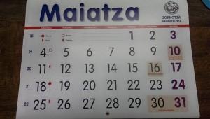 MAIATZEKO IRTEERAK / SALIDAS DE MAYO