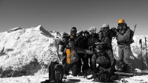 Eski ikastaroa Baqueira-n // Curso de Esquí en Baqueira