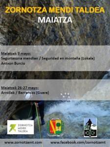 MAIATZEKO EKINTZAK / ACTIVIDADES MAYO