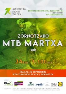 ZORNOTZA 2018 MTB MARTXA