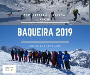 BAQUEIRA-RA IRTEERA / SALIDA A BAQUEIRA